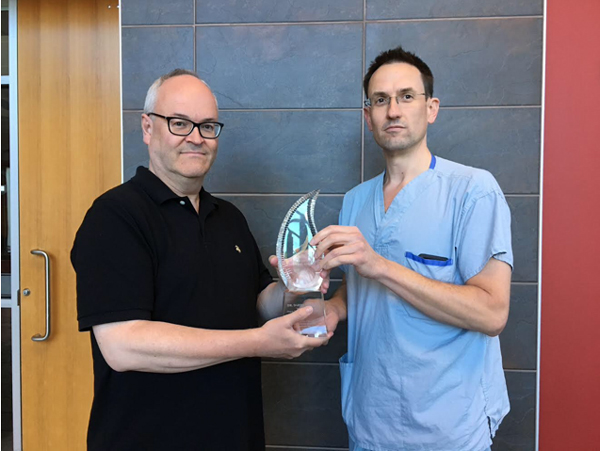 Dr. Darren Freed -2019 �Angels� Legacy Project Innovation and Technology Award� title=