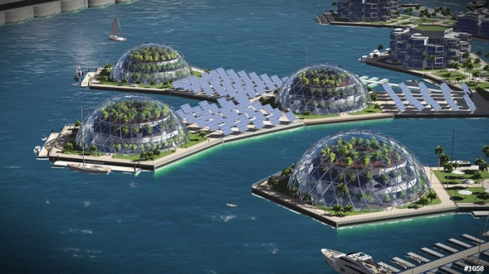 Sustainable Domes and Power-grids
