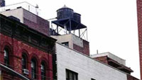 New York, Water Towers, 2000